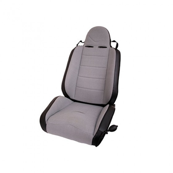 RRC Off Road Racing Reclinable Seat in Gray, 76-86 CJ