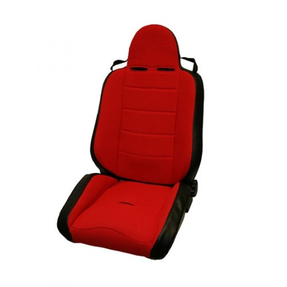 RRC Off Road Racing Reclinable Seat in Red, 76-86 CJ