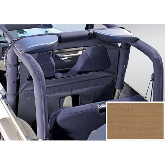 Roll Bar Curtain in Spice, 80-86 CJ