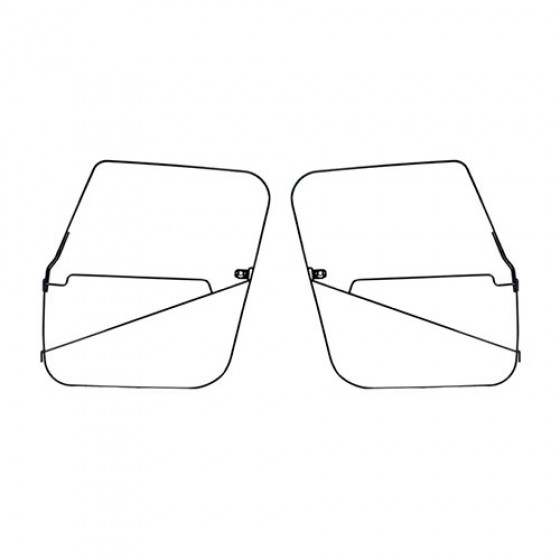 Soft Top Full Door Frames, 76-86 CJ-7