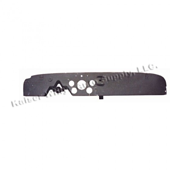 Steel Instrument Panel Dashboard Cover, 46-53 CJ-2A, 3A