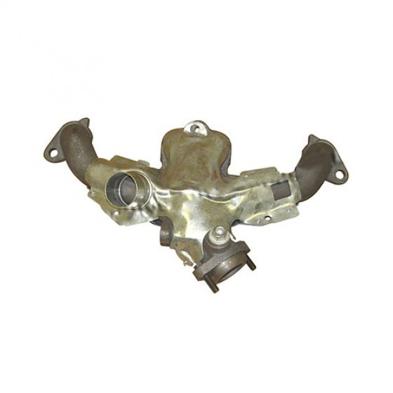 Exhaust Manifold in Cast-Iron, 84-86 CJ with 2.5L 4 Cylinder