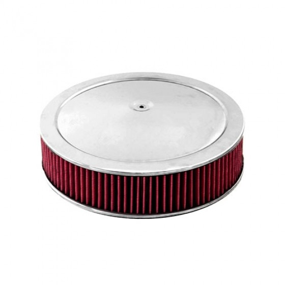 14 Inch Round Air Cleaner Assembly, 72-83 CJ