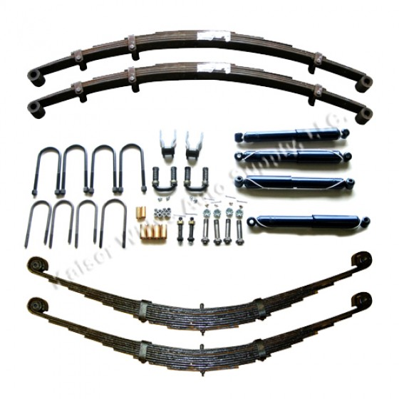 Complete Suspension Overhaul Kit  Fits  46-64 Station Wagon