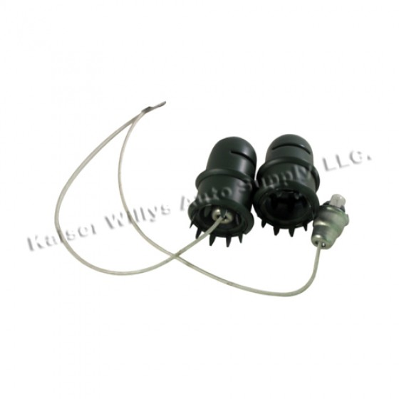 Dash Light Assembly, 41-45 Willys & Ford MB, GPW