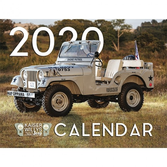 2020 Kaiser Willys Calendar All Willys & Jeep Vehicles