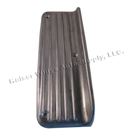 Rear Fender Upper Step Plate (drivers or passenger)  Fits  48-51 Jeepster