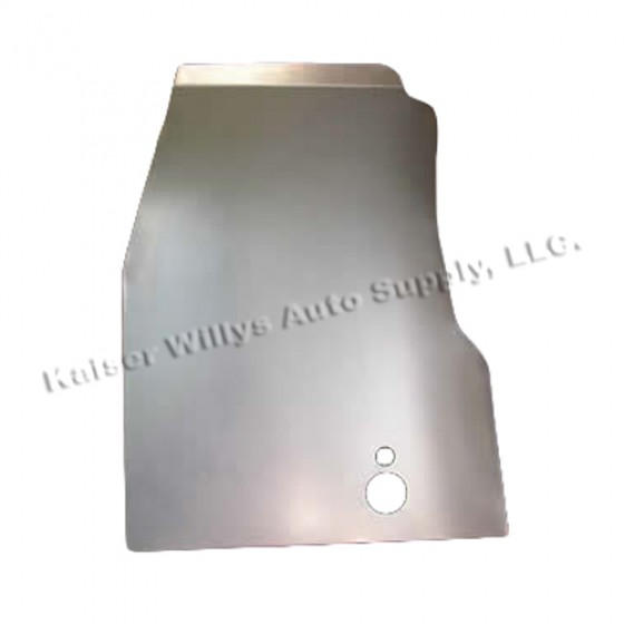 Floor Pan Repair Panel for Drivers Side, 46-64 Willys CJ-2A, 3A, 3B, M38