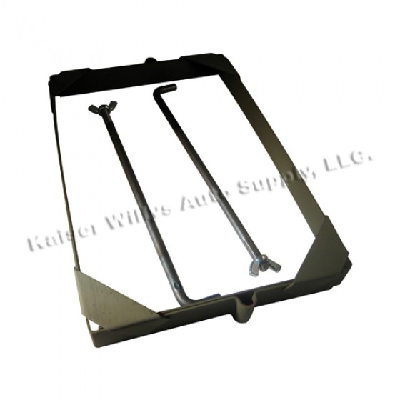 Steel Battery Hold Down Kit, 41-45 MB, GPW