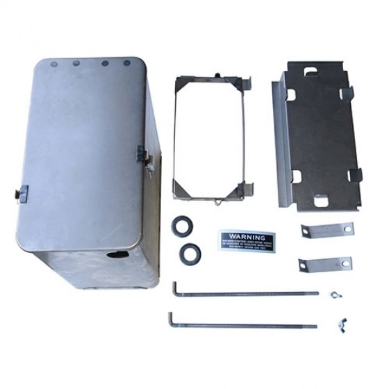 US MADE New Underhood Battery Box Kit, 50-52 M38