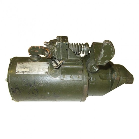 Rebuilt 24 Volt Starter (Later Style w/129 Tooth Ring Gear), 50-71 M38, M38A1