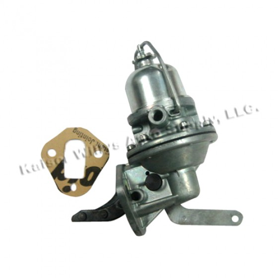 Fuel Pump with primer handle, 41-71 Jeep & Willys with 4-134 engine