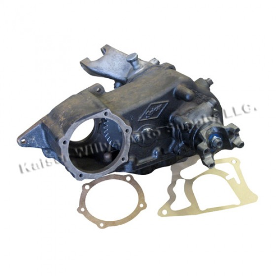 """Transfer Case Assembly (for 1-1/4"""" shaft)    Fits 53-71 Jeep & Willys with D18 transfer case"""