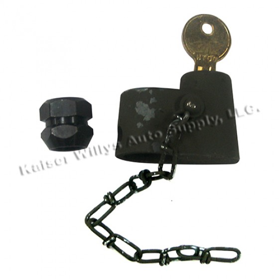 Spare Tire Carrier Lock, Willys and Jeep