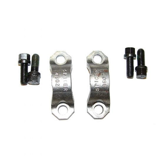 Strap and Bolt Kit, 76-86 CJ with Front Dana 30