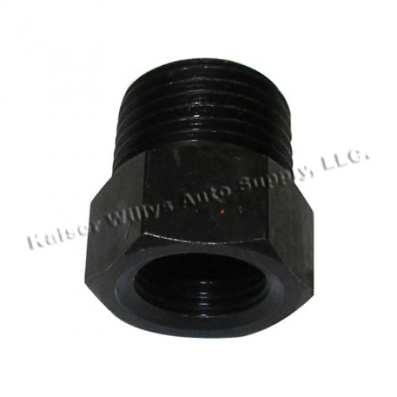 Temperature Gauge Adapter Bushing, 41-64 MB, GPW, CJ-2A, 3A, 3B