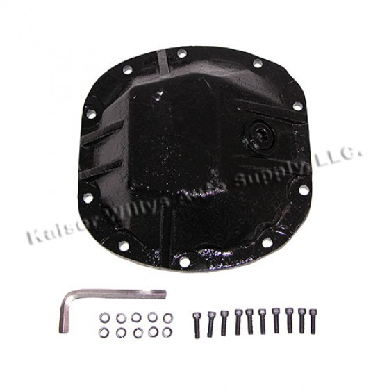 Heavy Duty Differential Cover, 73-86 CJ with Front Dana 30