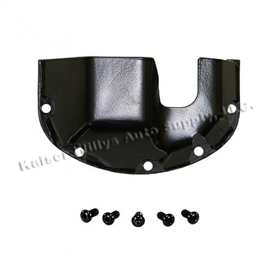 Heavy Duty Differential Skid Plate, 76-86 CJ with Front Dana 30