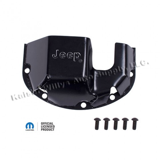 Differential Skid Plate, Stamped Jeep, 76-86 CJ with Front Dana 30