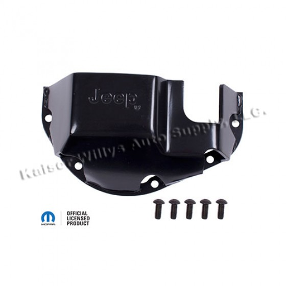 Differential Skid Plate, Stamped Jeep, 81 CJ-7 with Dana 44