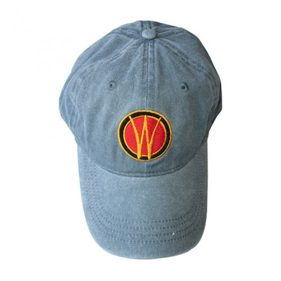 Willys Embroidered Hat (Faded Denim), 41-71 Willys and Jeep