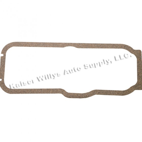 Oil Pan Gasket, 50-55 Station Wagon, Jeepster with 6-161 engine