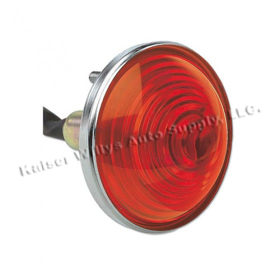 Park Lamp Assembly in Amber, 76-86 CJ