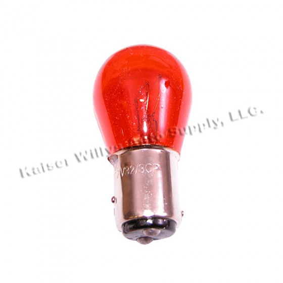 Front Parking Lamp Bulb with Amber, 76-86 CJ