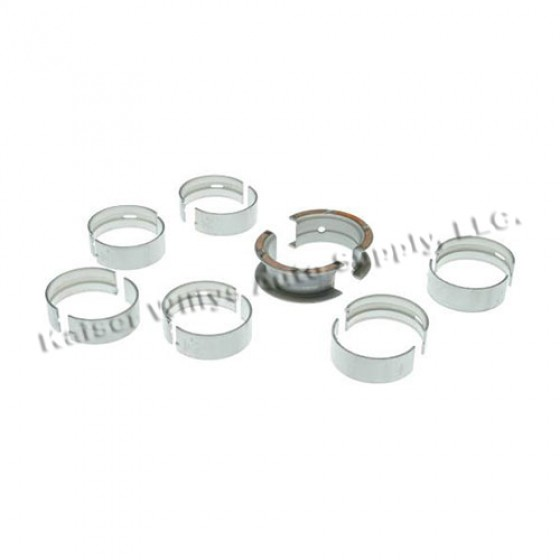 Main Bearing Set in Standard, 76-86 CJ with 6 Cylinder