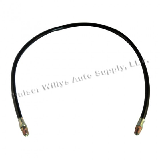 Oil Filter Inlet Hose 30 inch, 50-53 Truck, Station Wagon, Jeepster