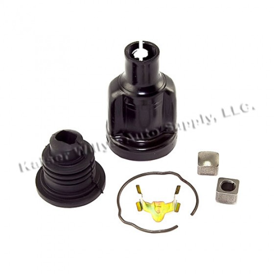 Lower Steering Shaft Spare Coupling Kit with Power Steering, 76-86 CJ