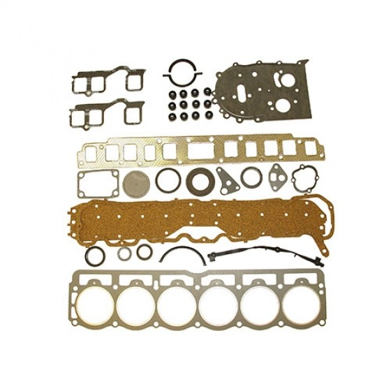 Engine Overhaul Gasket and Seal Kit, 76-80 CJ with 6 Cylinder AMC