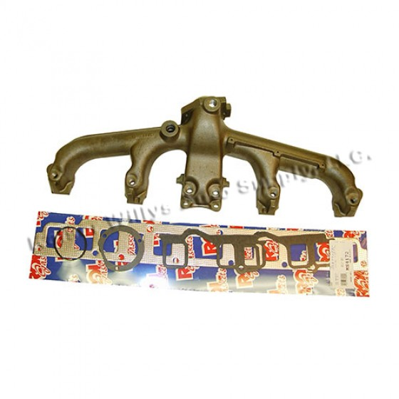 Exhaust Manifold Kit with Gasket, 81-86 CJ with 6 Cylinder 258