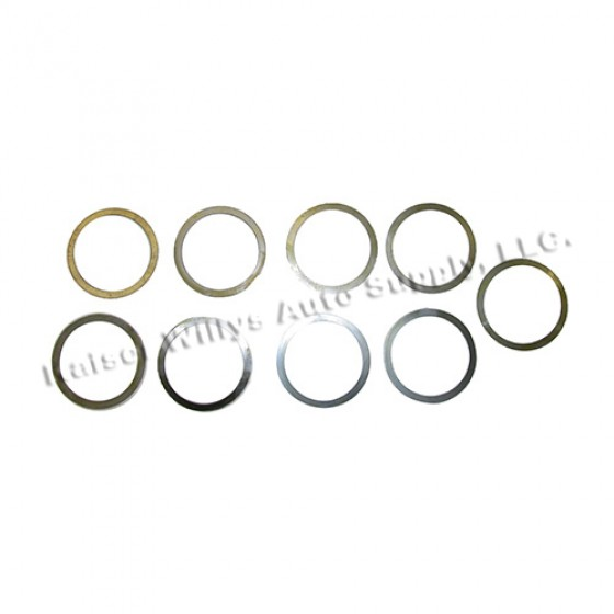 Differential Carrier Bearing Shim Pack, 41-71 Jeep & Willys with Dana 23/25/27