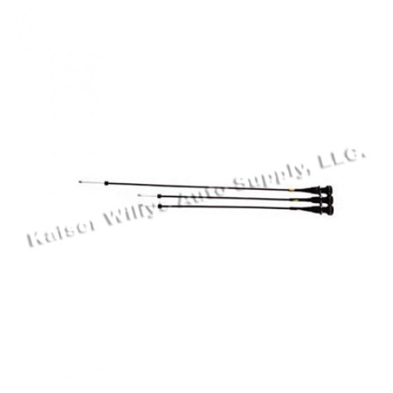 Vent Cable Kit in 3 Pieces, 78-86 CJ
