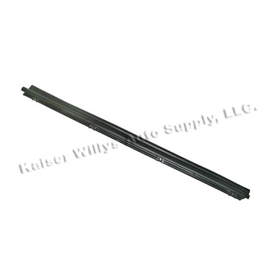 Driver Side Door Glass Outer Seal, 76-86 CJ
