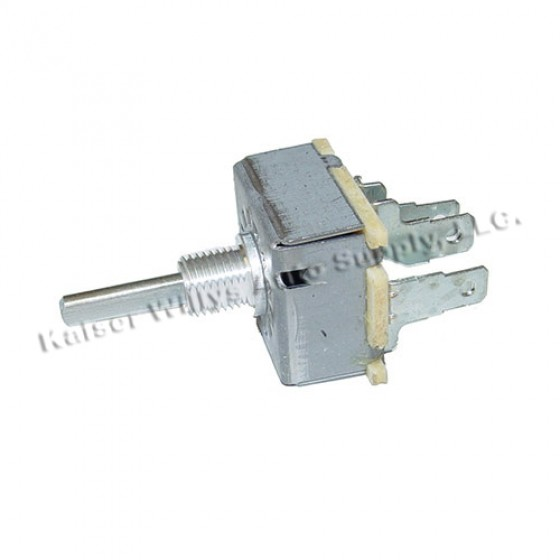 Heater Switch with 3 Speed Heater Motor, 78-86 CJ
