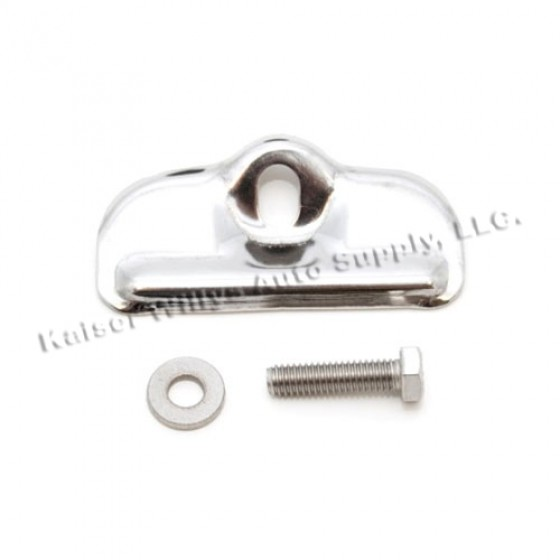 Stainless Steel Battery Tray Clamp, 76-86 CJ
