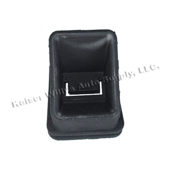 Rubber Clutch Boot, 66-71 CJ-5, 6 with V6
