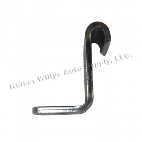Rear Fuel Tank Hold Down Strap Clamp, 46-56 2A, 3A, 3B