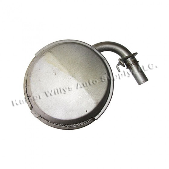 Oil Pan Sump, 41-71 Jeep & Willys with 4-134 engine