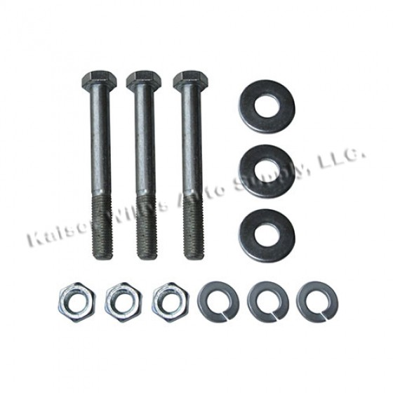 Oil Pump to Cylinder Block Hardware Kit, 41-46 MB, GPW, CJ-2A with 4-134 engine