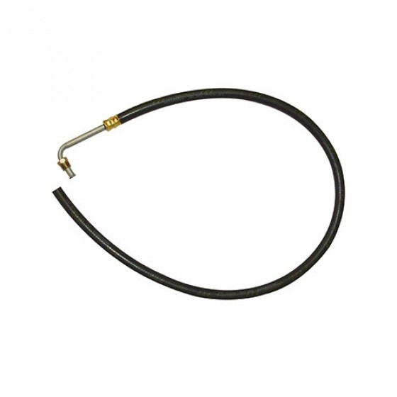 Power Steering Return Hose from Gear Box to Pump, 76-79 CJ with 6 or 8 Cylinder
