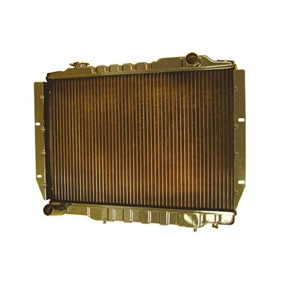 2 Core Radiator, 81-86 CJ with 6 Cylinder