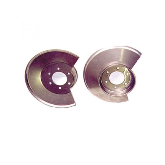 Front Brake Rotor with 2 Bolt Style, 78-86 CJ
