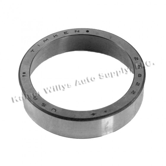 Rear Axle Outer Bearing Cup, 46-64 Truck with Dana 53 rear