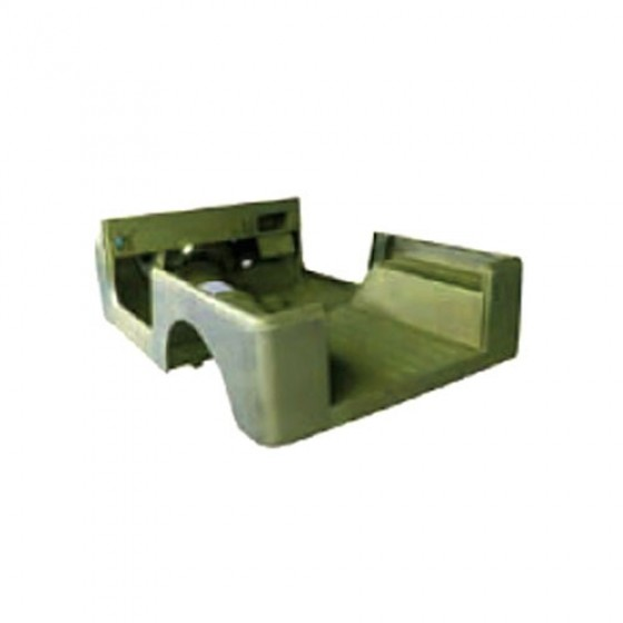 Steel Body Tub, 76-83 CJ-5