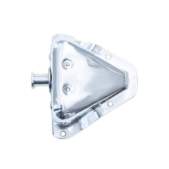 RH Door Latch Bracket Kit in Stainless Steel, 81-86 CJ