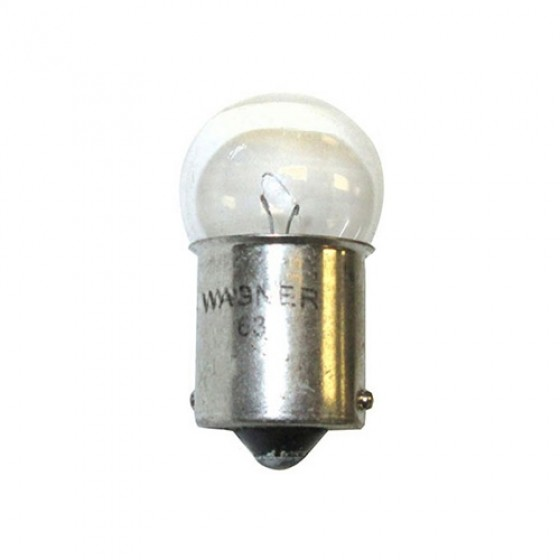 Instrument Dash Light Assembly Bulb, 6 Volt, 46-64 CJ-2A, 3A, 3B
