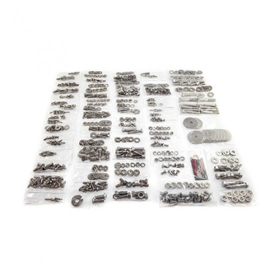 Body Fastener Kit, Soft Top, 81-86 CJ-8